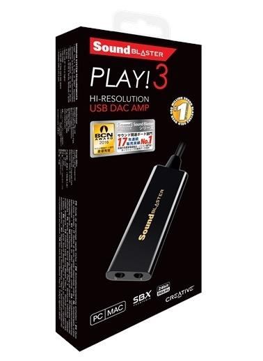 Creative Sound Blaster Play 3 Usb Ses Kartı Renkli